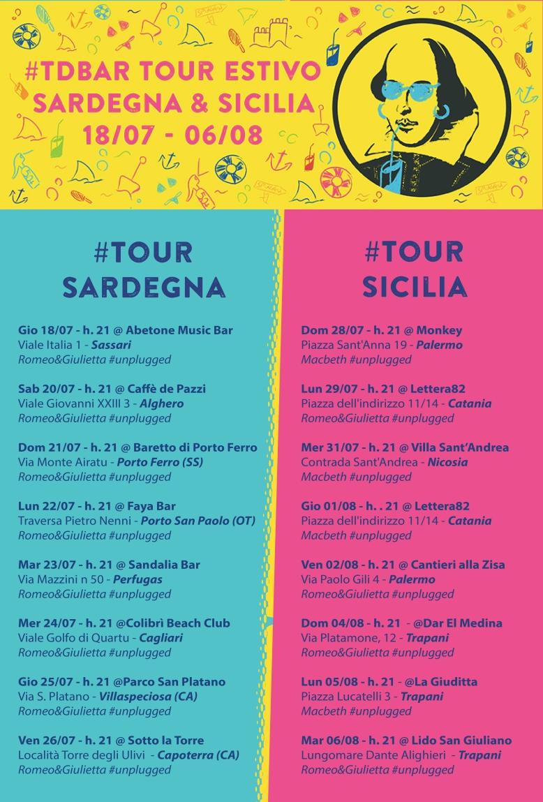 Tour Estivo 19